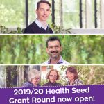 2019/20 Health Seed Grant Round now open!