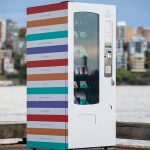 Vending machine dispenses wellbeing and wisdom